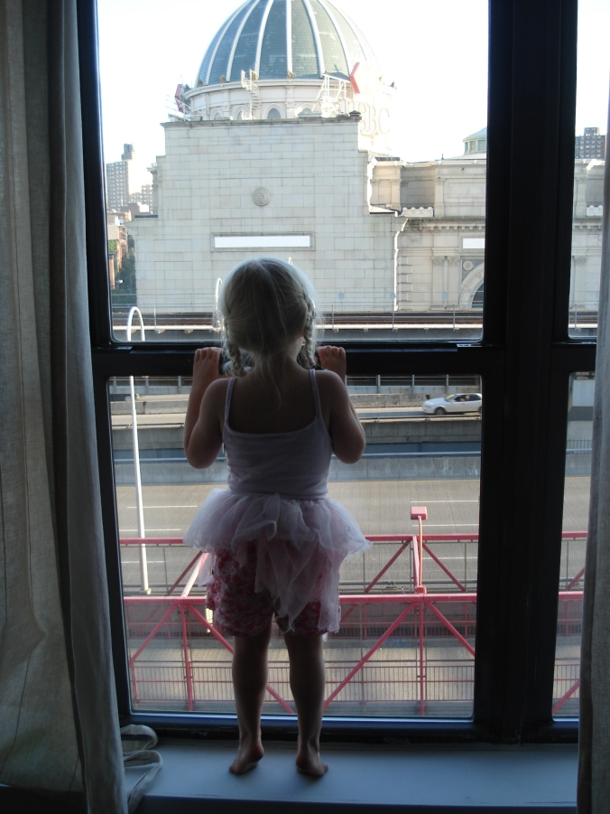Marica looking out the window 2