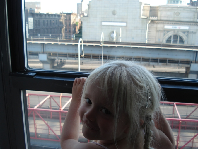 Marica looking out the window 4