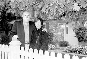 Chuck Geschke and his wife