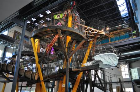 Great big climbing construction