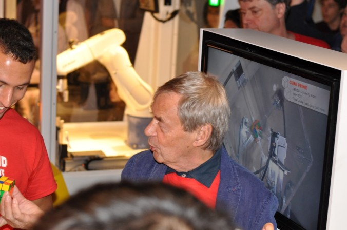 Erno Rubik's side